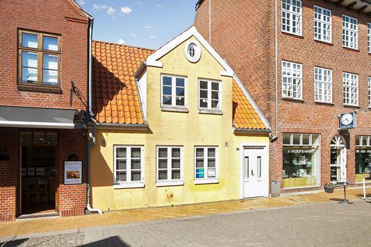 Villa på Vestergade i Tønder - Ejendommen
