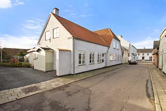 Villa på Postgade i Højer - Ejendommen