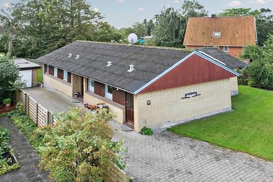 Villa på Carstensgade i Tønder - Set fra vejen