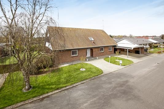 Villa på Hjejlen i Tønder - Mastefoto