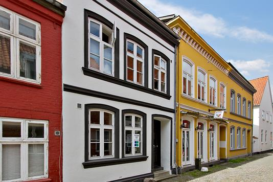 Villa på Lillegade i Tønder - Facade