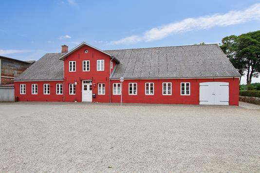 Villa på Kirkegade i Bredebro - Ejendommen