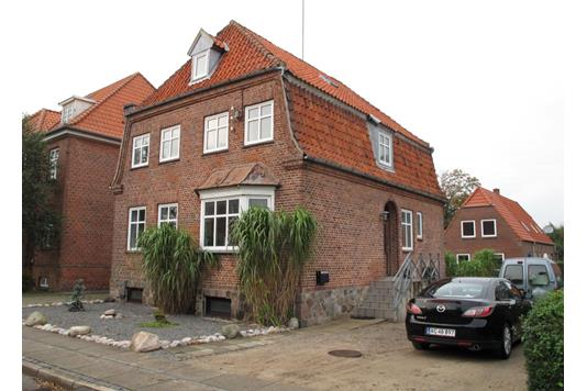 Villa på Strucksalle i Tønder - Ejendommen