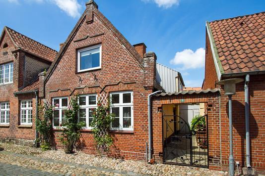 Villa på Uldgade i Tønder - Set fra vejen
