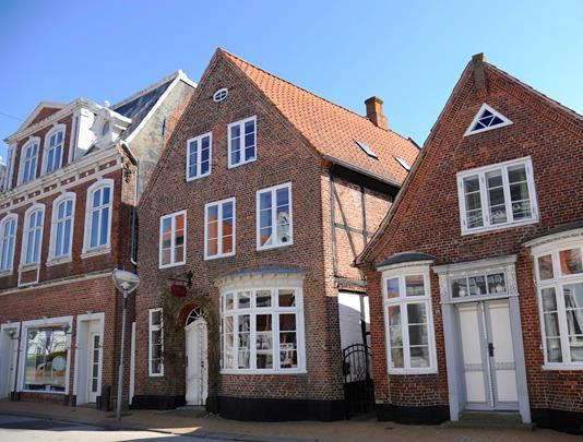 Villa på Østergade i Tønder - Facade