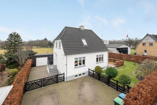 Villa på Møllevej i Tønder - Ejendommen