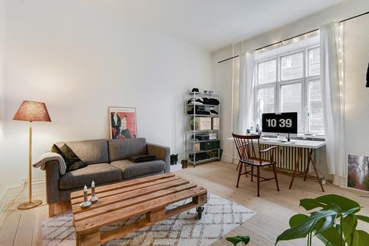 Ejerlejlighed på Vordingborggade i København Ø - Værelse