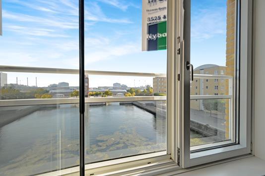 Ejerlejlighed på Midtermolen i København Ø - Udsigt