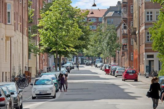 Ejerlejlighed på Korsørgade i København Ø - Område
