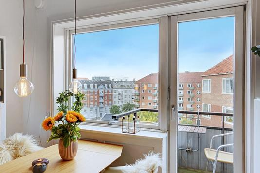 Ejerlejlighed på Vordingborggade i København Ø - Stue