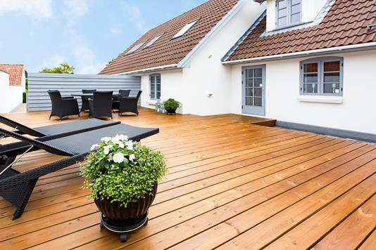 Villa på Nørrevangsvej i Rørvig - Terrasse