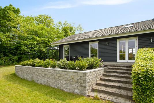 Villa på Gl Holbækvej i Nykøbing Sj - Set fra haven