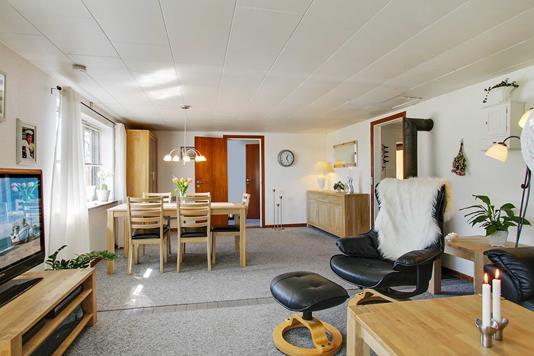 Villa på Åstoftevej i Asnæs - Stue