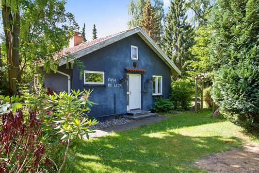 Villa på Kirkestien i Rørvig - Set fra haven