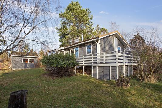 Fritidsbolig på Mågevej i Nykøbing Sj - Set fra haven