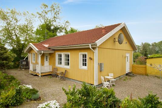 Villa på Møllebakken i Rørvig - Ejendommen