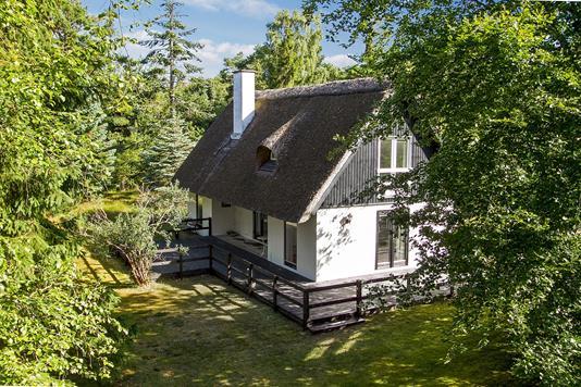 Fritidsbolig på Henrik Petersens Vg i Rørvig - Set fra haven