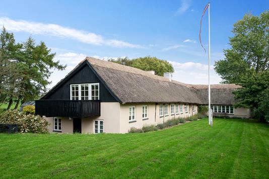 Villa på Gudmindrup Mosevej i Højby - Set fra haven