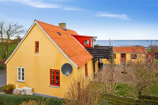 Villa på Vestre Havnevej i Sjællands Odde - Ejendommen