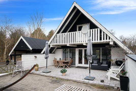 Villa på Høvedvej i Rørvig - Set fra haven