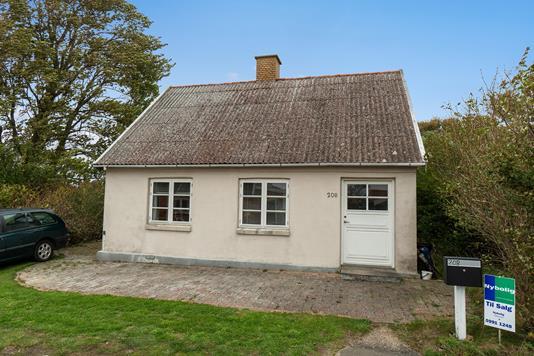 Villa på Oddenvej i Nykøbing Sj - Set fra haven