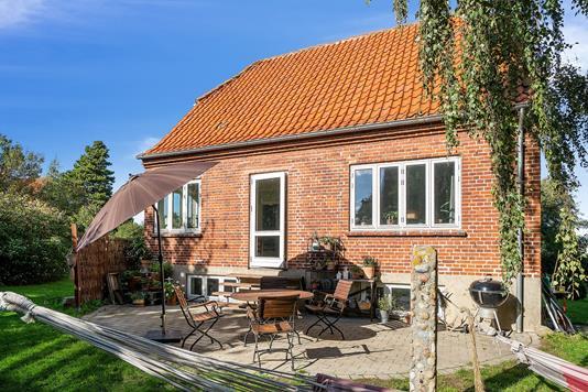 Villa på Nordstrandsvej i Nykøbing Sj - Terrasse