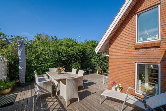 Villa på Altavej i Nykøbing Sj - Terrasse