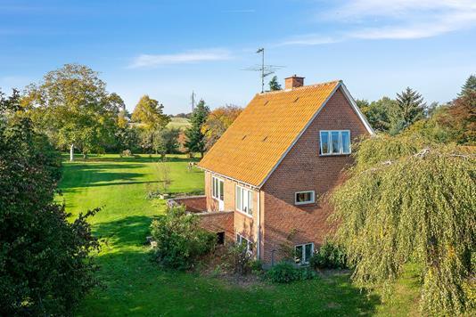 Villa på Dr Schadsvej i Nykøbing Sj - Set fra haven