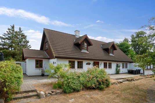 Villa på Klint Strandvej i Nykøbing Sj - Set fra haven
