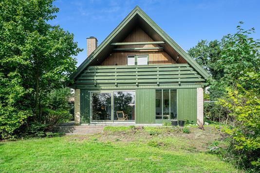 Villa på Sct Georgs Vej i Nykøbing Sj - Set fra haven