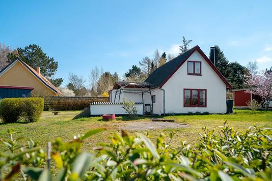 Villa på Stormlyvej i Nykøbing Sj - Set fra haven
