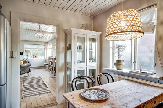 Villa på Rørvigvej i Nykøbing Sj - Spiseplads