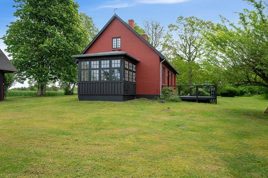 Fritidsbolig på Herman Sandby Vej i Rørvig - Set fra haven