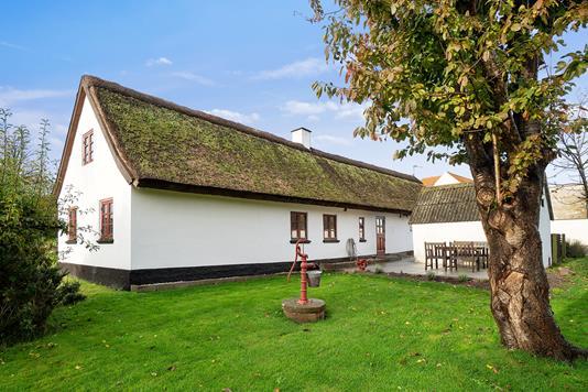 Villa på Oddenvej i Sjællands Odde - Set fra haven