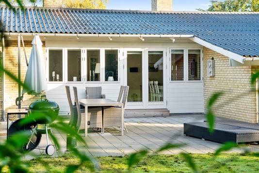 Villa på Nordgårdsvej i Nykøbing Sj - Terrasse