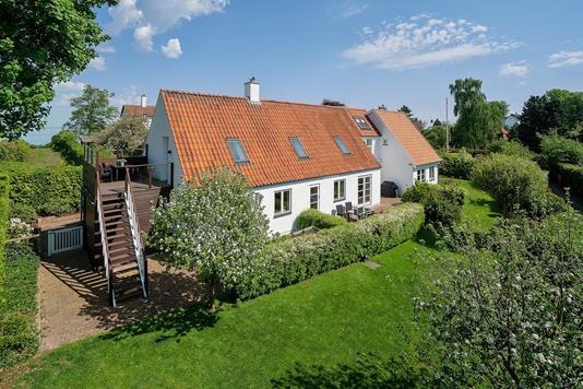 Villa på Rungsted Strandvej i Rungsted Kyst - Set fra haven