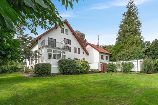 Villa på Bukkeballevej i Rungsted Kyst - Set fra haven