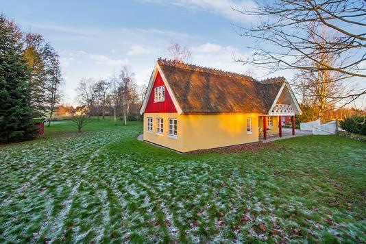 Villa på Donsevej i Hørsholm - Set fra haven