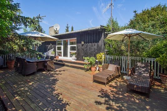 Villa på Strandvænget i Rungsted Kyst - Terrasse
