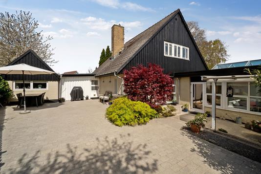Villa på Kofod Anchers Vej i Espergærde - Terrasse