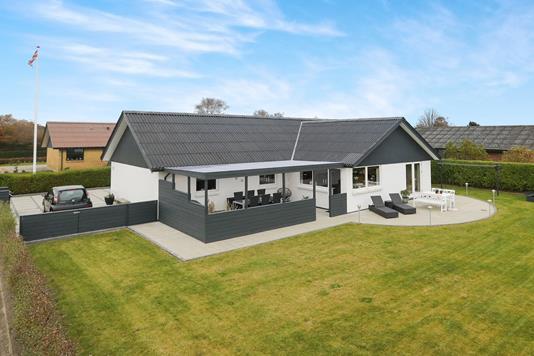 Villa på Østerled i Hals - Ejendommen