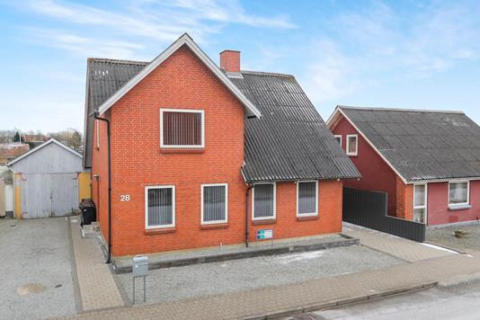 Villa på Borgergade i Gandrup - Ejendommen