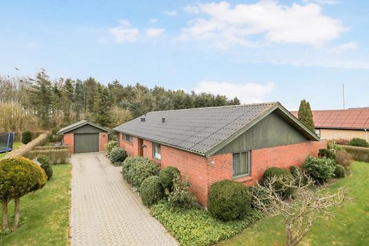 Villa på Hirsehaven i Hals - Ejendommen