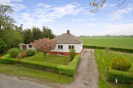 Villa på Sønderskovvej i Hals - Facade