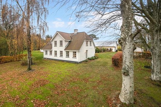 Villa på Aalborgvej i Hals - Ejendommen