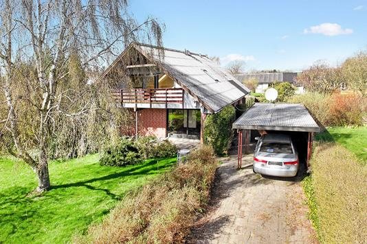 Villa på Niels Juels Vej i Asaa - Ejendommen