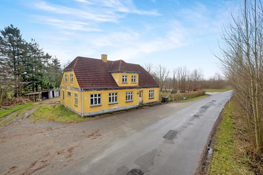 Villa på Skivervej i Gandrup - Ejendommen