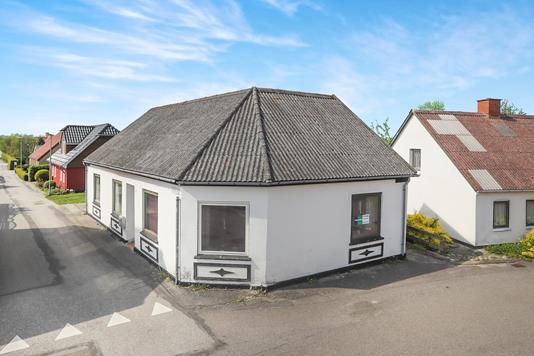 Villa på Lergravsvej i Hals - Ejendommen