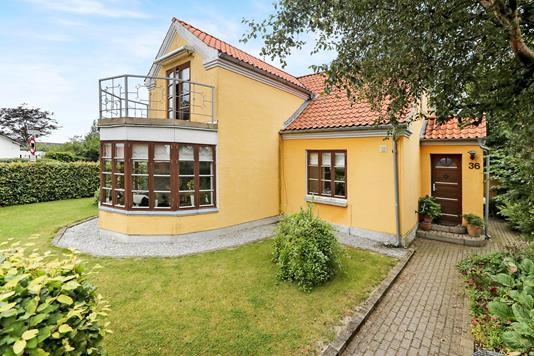 Villa på Sønderskovvej i Hals - Ejendommen