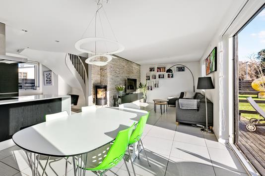 Villa på Bluevang Alle i Rødovre - Stue